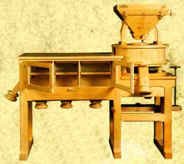 moulin c r ale lectrique. Black Bedroom Furniture Sets. Home Design Ideas